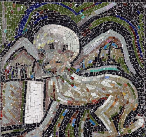 Symbol of St. Mark the Evangelist Holy Altar Art Belief Catholic Christian Christianity Church Croatia Evangelist Faith Gospel Mark Mosaic Multi Colored Old Patron Pray Religion Religious  Saint Spiritual Spirituality Worship