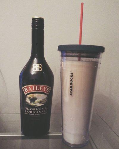 LCBO Drinking Baileys Like It :)