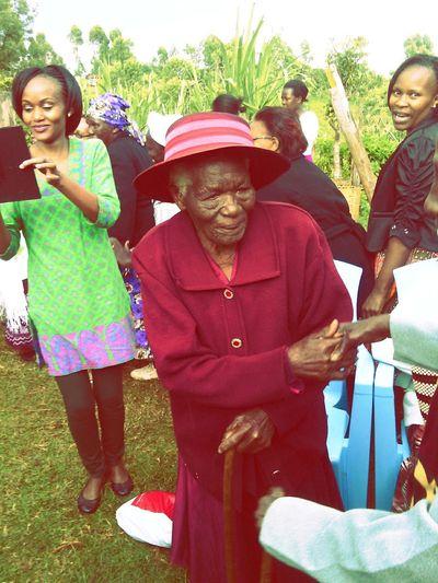 Festive Season Happy 100th Birthday Great Grandma. God's Blessings inspirationalwoman