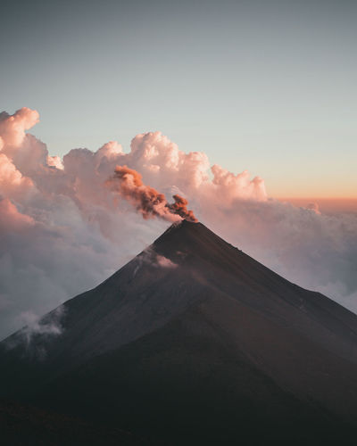 Adventures Guatemala Landscape_Collection Nature Nature Photography Travel Travel Photography Traveling Acatenango Adventure Cloud - Sky Eruption Landscape Landscape_photography Nature_collection Naturelovers Outdoors Sky Sun Sunrise Sunset Travel Destinations Volcanic Crater Volcanic Landscape Volcano
