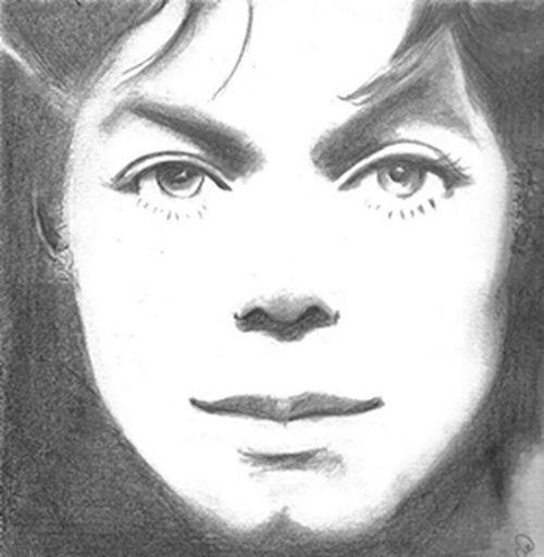 Dibujando A Michael Jackson !!!