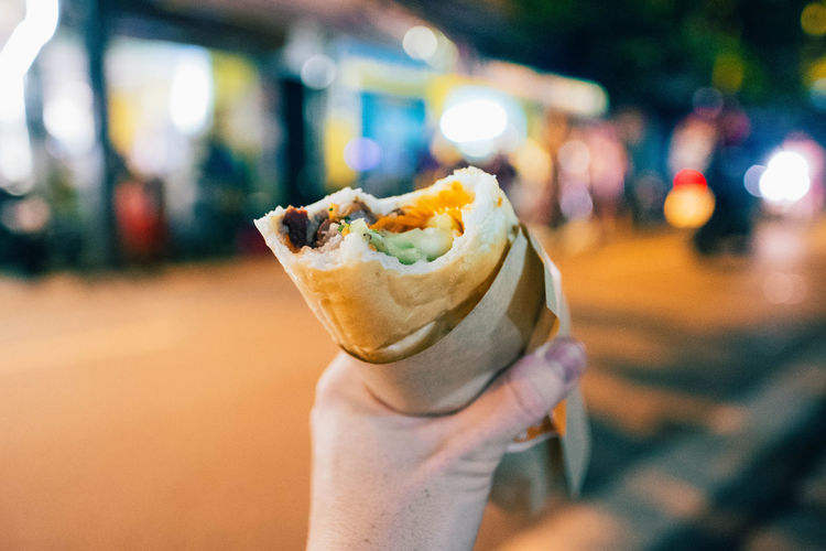 Best Banh Mi in town. Vietnamese Food Focus On Foreground Food Food And Drink Freshness Hand Holding Human Hand Ready-to-eat Sandwhich Street Food Take Out Food