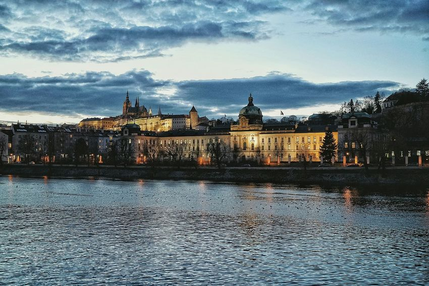 Czech Photos Night View Night Lights Riverscape A Point Of View Taking Photos Cityscapes Landscape Clouds And Sky Cloudpark City Street Taking Photos Nightphotography Travel Riverside Streamzoofamily 43 Golden Moments The Architect - 2017 EyeEm Awards