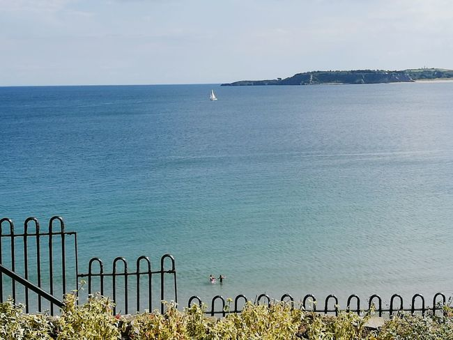 Sea Water Outdoors Scenics No People Landscape Day Horizon Over Water Nature Tranquility Beach Sky Beauty In Nature Summertime Holidays ☀ Wave Travel Destinations Tranquility Boats Pembrokeshire Coast Freshness