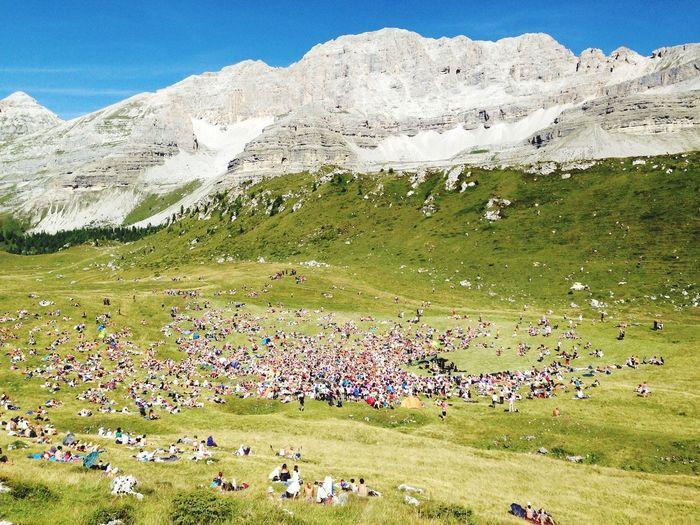 Mountains Musicfestival I Suoni Delle Alpi Alps UNESCO World Heritage Site Enjoying Life Summer 2014 Sunny Day
