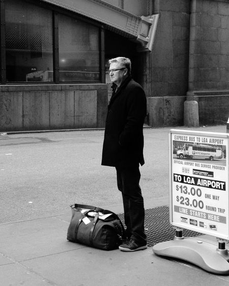 The Best Of New York My Daily Commute Public Transportation Laguardia Shuttle Waiting For The Bus The Portraitist - 2015 EyeEm Awards The Street Photographer - 2015 EyeEm Awards