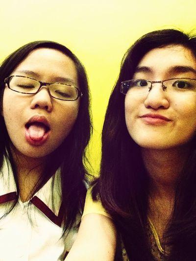 With my best best friend :)