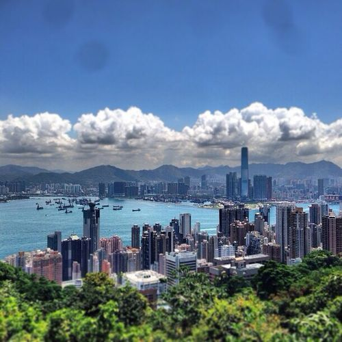 The peak HongKong Hobgkongisland Thepeak