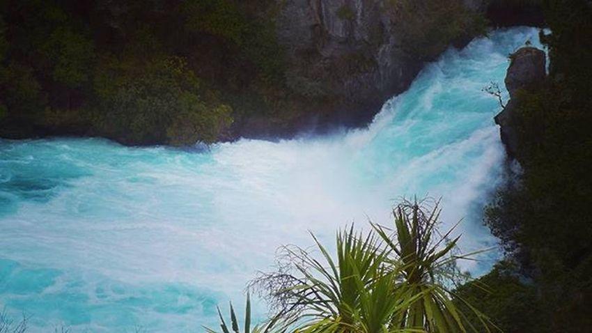Nature Blue Hukafalls Taupo Water Waterfall Aotearoa NZ Newzealand Scenic 9vaga_colorblue9 Nature_waterfalls