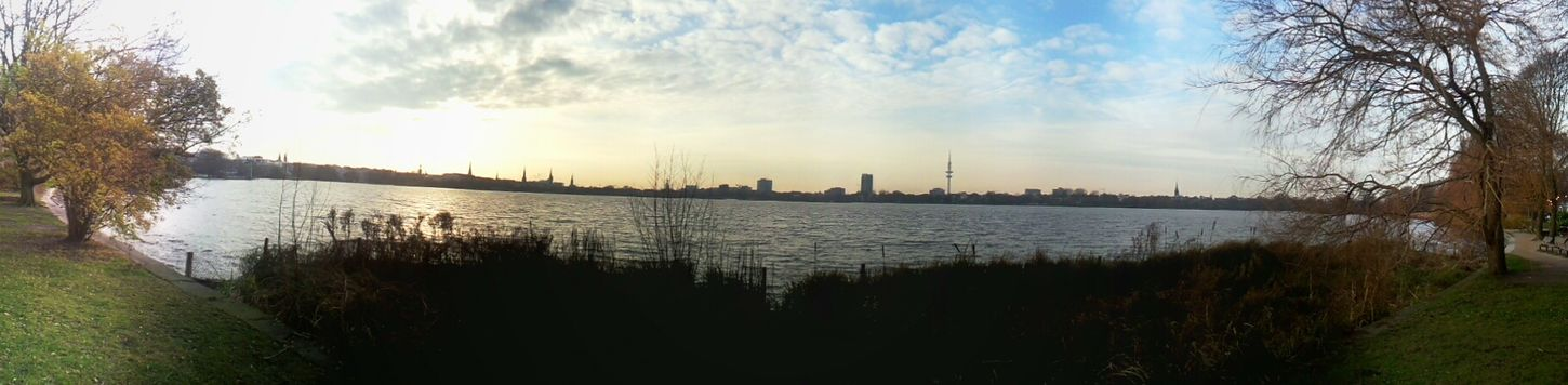 Too bad that eyeem downsizes these Panorama pictures so heavily. Hello World Taking Photos Morning