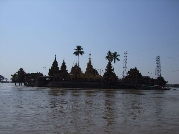 Island Pagoda Yaylel Blue Sky Buddhism Buddhist Architecture Buddhist Culture Buddhist Pagoda Buddhist Temple Composition Fun Myanmar No People Outdoor Photography Palm Trees Place Of Pilgrimage Place Of Prayer Place Of Worship Reflections In The Water Religion Silouhette Spirituality Sunlight And Shade Thanlyin Travel Destination Unusual View Water Yaylel Pagoda