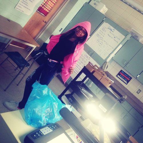 - in school ! : )