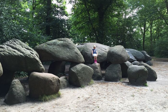 Megalith The Biggest in The Netherlands Full Length Archeological Site Archeology Nature Big Stones Grave Outdoors Landscape