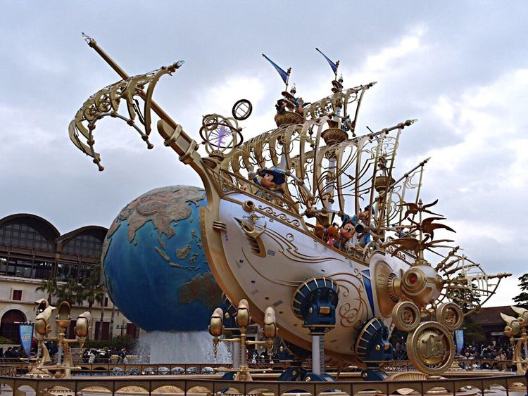 Japanese  Disney DisneySea DisneyWorld Ship