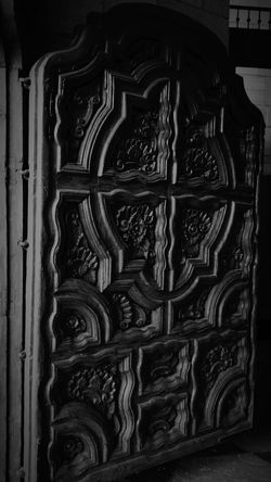 Gangsters Paradise Door Wood Church B&w Mexico Catedral Saltillo Coahuila