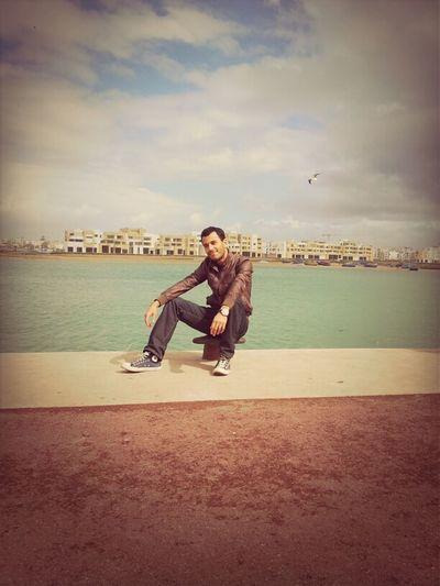 Blue Ocean Day At Rabat Bouregreg Marina