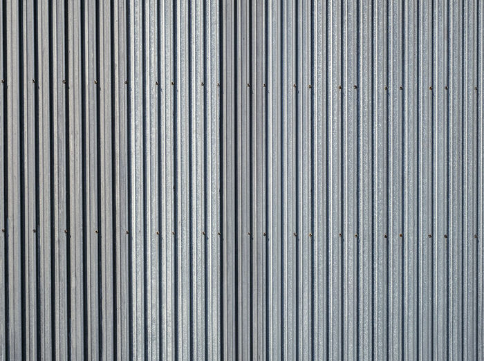 Corrugated metal verticale texture surface Aluminum Architecture Backgrounds Brushed Metal Close-up Corrugated Iron Day Full Frame Iron - Metal Metal No People Outdoors Pattern Silver - Metal Silver Colored Steel Textured