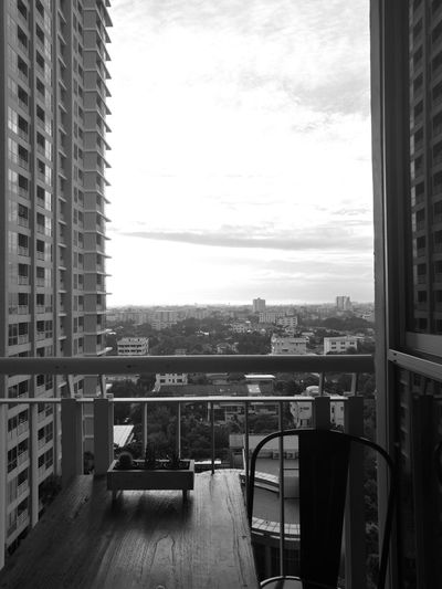 Home Is Where The Art Is Good morning!!! Movein NewHome Firstmorning Bangkok City Life Thailand HuaweiP9 Monochrome Nofilter