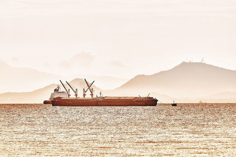 shipping Oil Pump Salt - Mineral Industry Agriculture Working Business Finance And Industry Rural Scene Sky