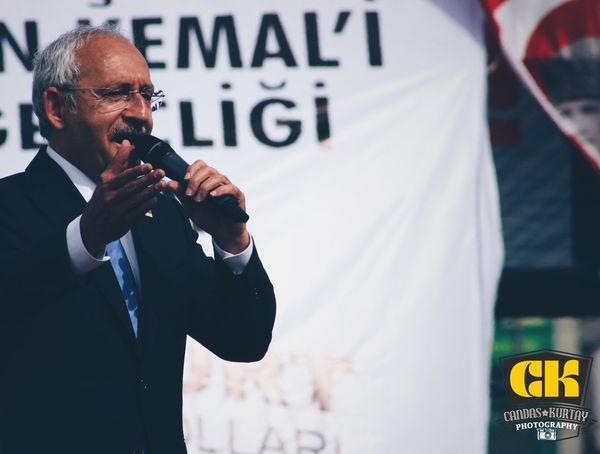Chp Miting Meeting Istanbul Turkey Popular Photos Man Portrait Photo