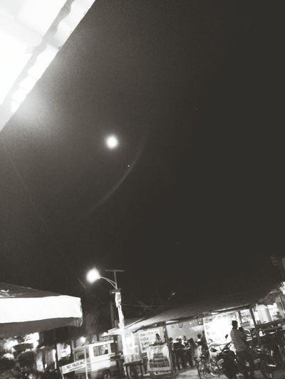 Night Moon Outdoors Sky Star - Space First Eyeem Photo