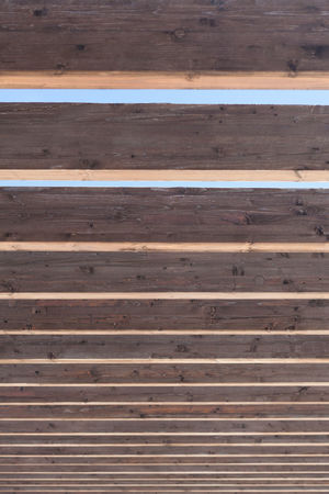 vertical plank roof background Abstract Backgrounds Brown Close-up Day Decoration Frame Lath Material Nature No People Outdoors Panel Parallel Pattern Plank Roof Rough Space Striped SUPPORT Texture Timber Vertical Wood - Material
