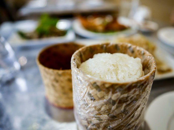 Close-up Day Focus On Foreground Food Food And Drink Freshness Indoors  No People Ready-to-eat Rice Sticky Rice Sweet Food Thai Food