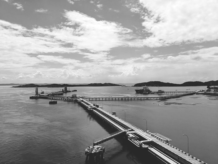 Nauticallife Life Onboard Nautical Theme Oil Terminal Oil Tanker Ship