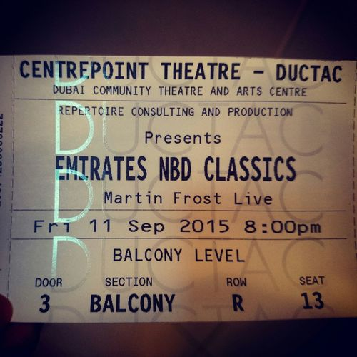 Finearts Theater Martinfrost Classical Classics Showtime Classicalpieces Balconyview Bestseats Magnifique