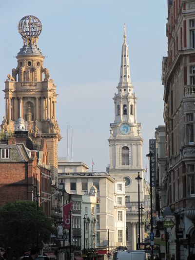 Architecture Building Exterior Built Structure Church City Clock Tower St Martin-in-the-fields Street