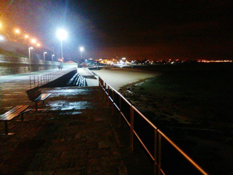 Cascais E Estoril Beach At Night No People