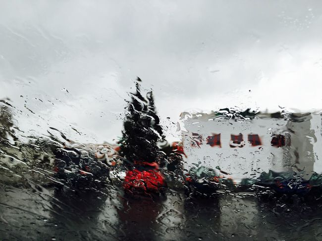 Rain Rainy Day Enjoying Life Even When  It Rains Taking Pictures Photography Switzerland In The Car Photo Made By Me