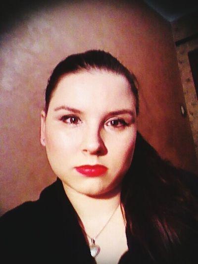 Women red lips