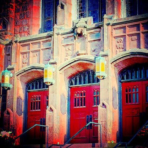 Red Door Doors Nature On Your Doorstep Architecture_collection Amazing Architecture Huntington, WV Cathedral Hello World Popular Photos Textures And Surfaces