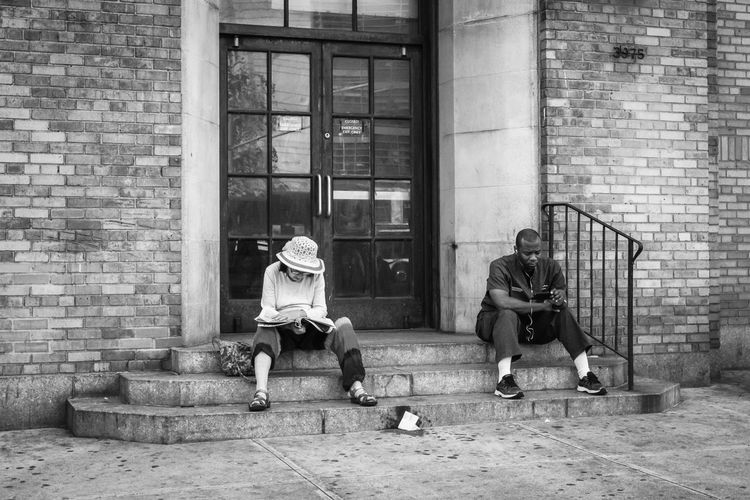 Washington Heights, NYC | 2016 Streetphotography Street Photography NYC Photography NYC Street Photography New York City Washington Heights Black And White The Street Photographer - 2016 EyeEm Awards
