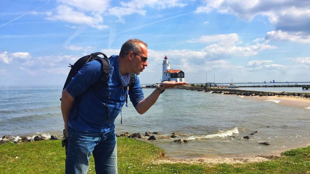 Lighthouse_lover Lighthouse Marken Netherlands Holland Zuidersee Halbinsel People Of The Oceans