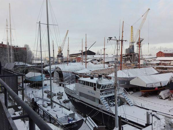 Boat Commercial Dock Day Finland Frozen Harbor Helsinki Helsinki,finland Island Mast Mode Of Transport Nautical Vessel No People Outdoors Port Sailboat Ship Soumenlinna Throwback Winter Winter Wonderland Wintertime