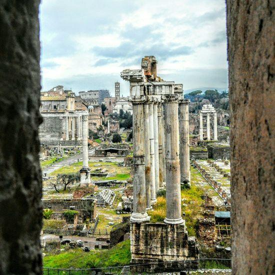 Foro  Romanforum Rome Roma Italy Architecture Italia Romanhistory