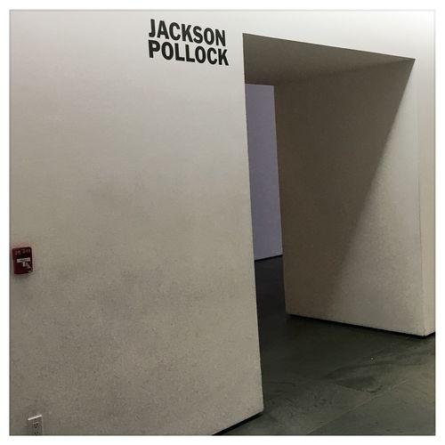 Jackson Pollock, Upon Entering New York March 10 2016 iPhone 6S+ Pictureshown jacksonpollock