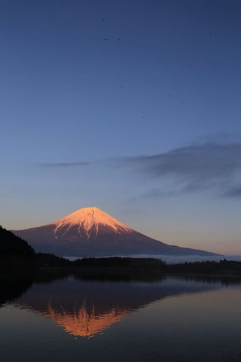 Landscape_Collection Mt.Fuji Reflection Sky_collection