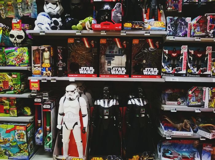 Lap. Star Wars Toys Action Figures