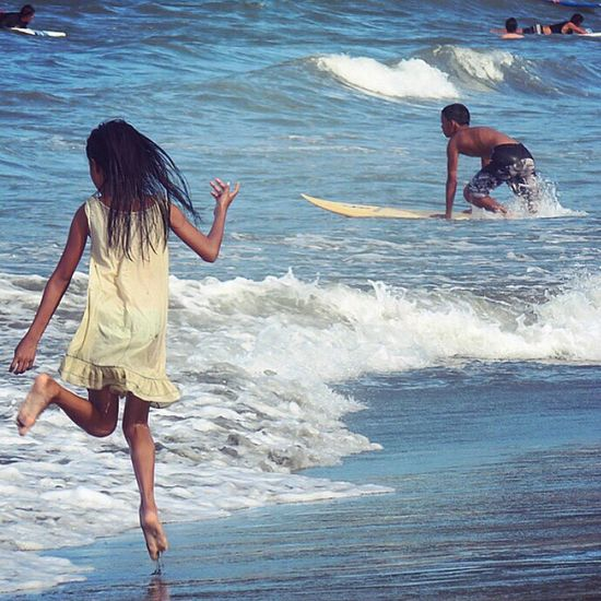 Blue Wave Surf's Up Surfing Small Waves Surfers Baler Aurora Philippines Eyeem Philippines Beach Beach Photography Beach Life Island Life Let Your Hair Down People Of The Oceans Done That.