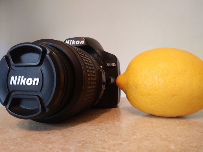 EyeEm Selects Photography Themes No People Camera - Photographic Equipment Close-up Paint The Town Yellow Nikon D3200 Indoors  Lemon Yellow