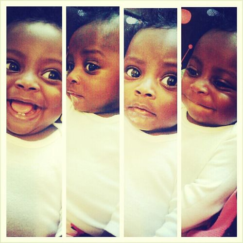 my daughter have the craziest faces<3