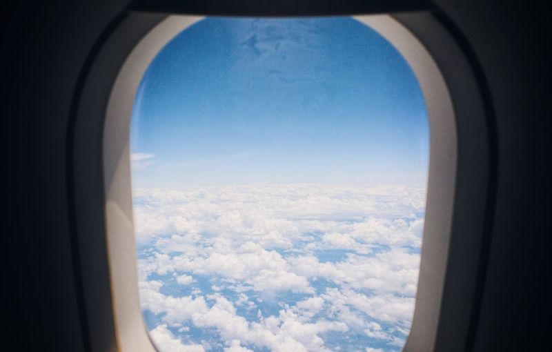 Airplane Cityscape Window Snow Sky Cloud - Sky Aerial View Aircraft Wing Aeroplane Air Vehicle Aircraft Scenics Airplane Wing Tranquil Scene View Into Land