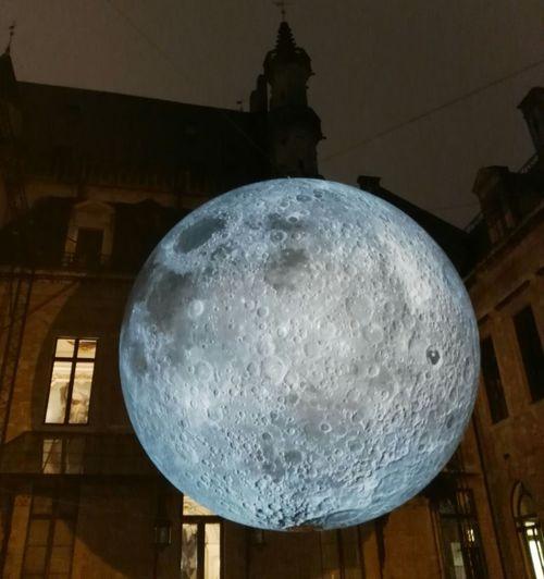 Museum Of The Moon ArtWork by Luke Jerram Brussels
