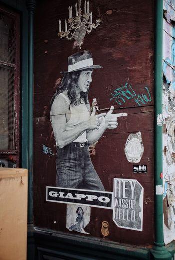Phillylove ❤️ Mural Art Mural Streetart Text Female Likeness Art And Craft Human Representation Door Poster Statue
