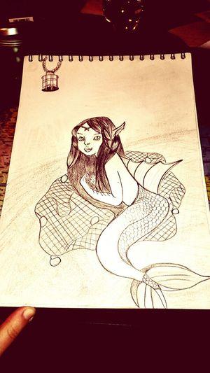 Draw Hello World Sirens SIRENA Drawing ✏ Art, Drawing, Creativity My Drawings