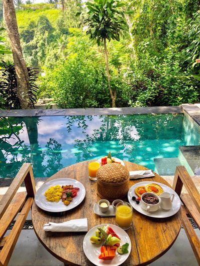 Food And Drink Food Plate Table Water Plant Freshness Nature Breakfast Fruit Meal Ready-to-eat Wellbeing Outdoors Day Healthy Eating