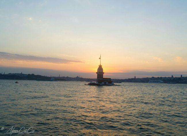 ıstanbul, Turkey Maidentower Günbatımı Maidenstower Gunbatimi Kizkulesi Sunset